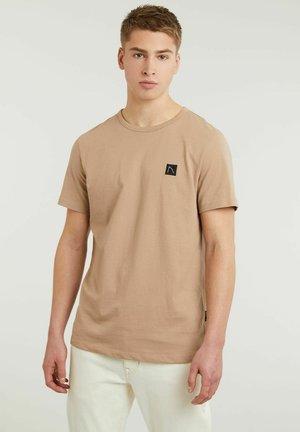 BRETT - Basic T-shirt - beige