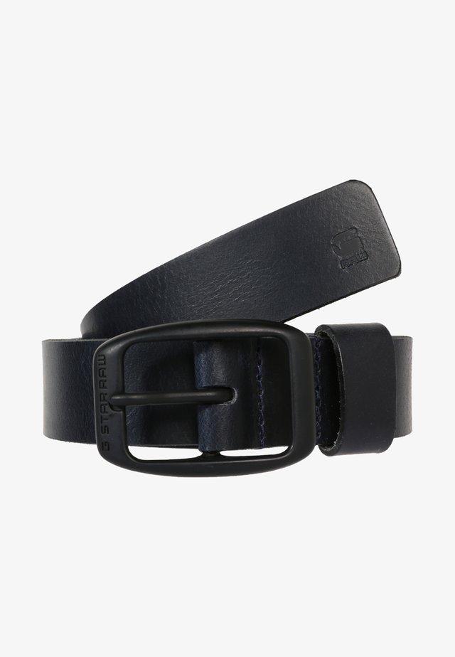 BRYN - Belt - mazarine blue/black