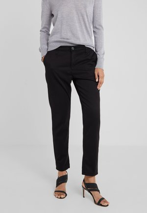 CADEN - Trousers - super black