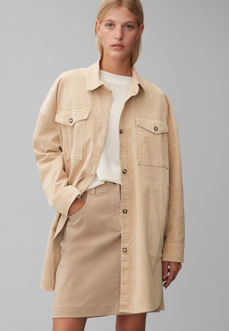 Marc O'Polo - Short coat - vintage stone