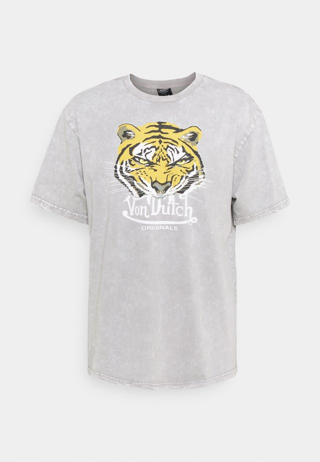 LENNOX - Print T-shirt - silver sconce