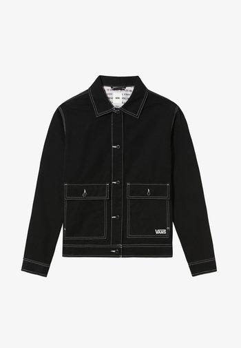 WM WE ARE BEAUTIFUL - Denim jacket - (we are beautiful) black