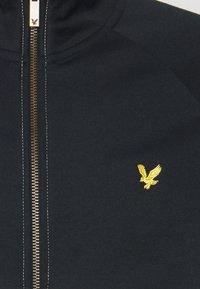 Lyle & Scott - ARCHIVE TRICOT ZIP THROUGH - Zip-up hoodie - dark navy/vanilla ice - 2