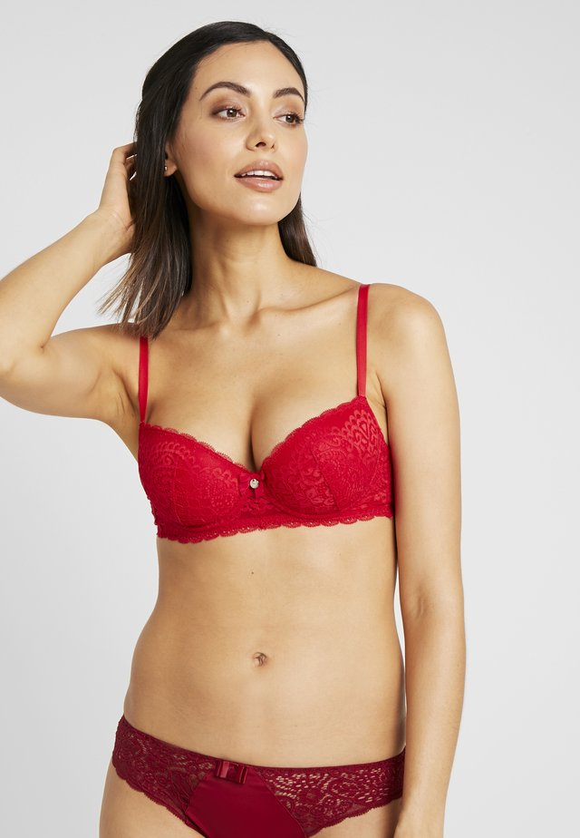 EMMELINE - Underwired bra - pillarbox red