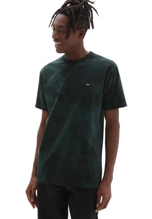 MN OFF THE WALL CLASSIC SPIRAL TIEDYE SS - Print T-shirt - scarab/black