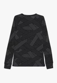 ODLO - CREW NECK WARM TREND KIDS - Top sdlouhým rukávem - black/grey melange - 1