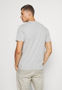 GAP - BASIC LOGO - Print T-shirt - light heather grey - 2