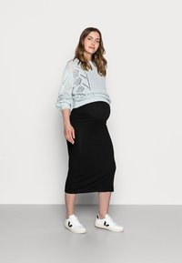 Lindex - DRESS MOM JOANNE - Jerseykjole - black - 1