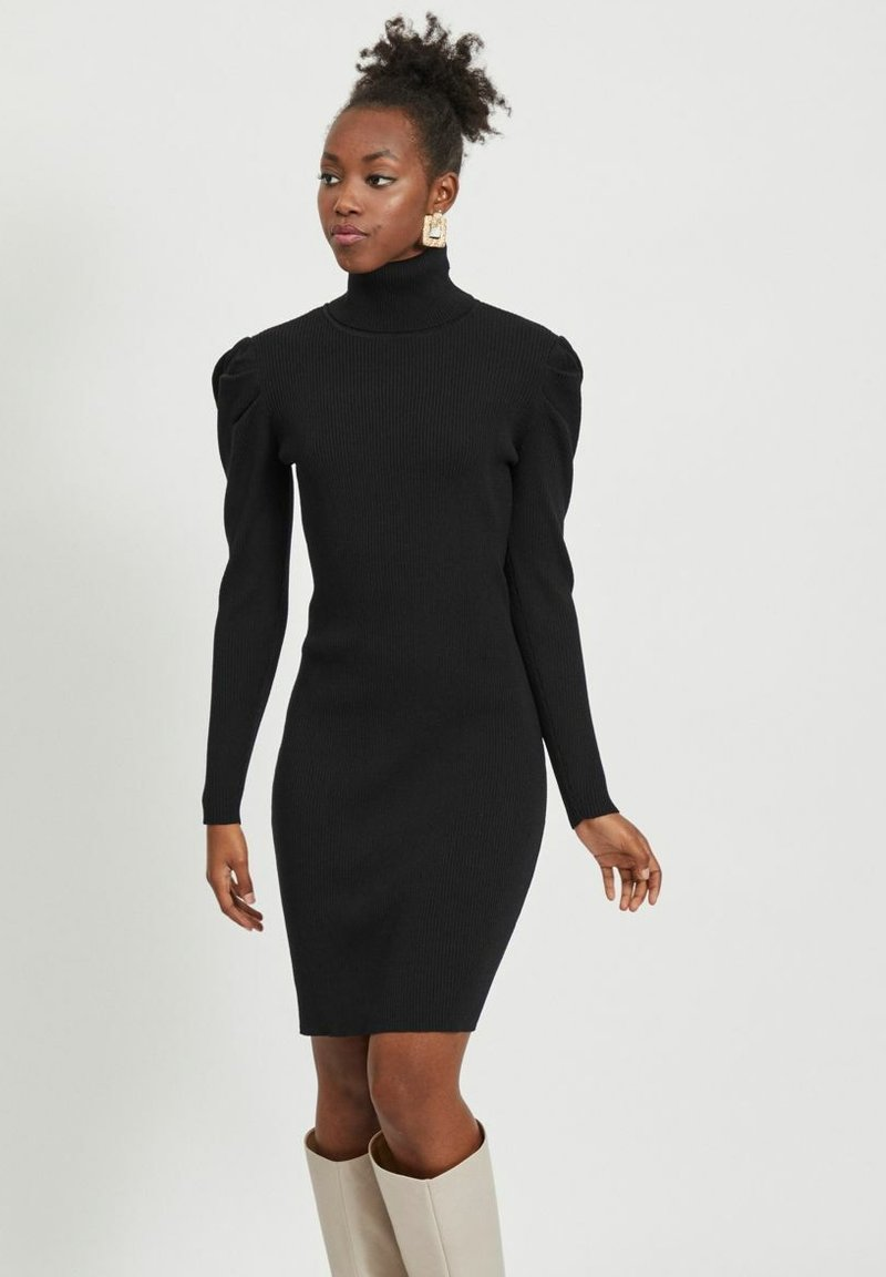 Vila - Jumper dress - black