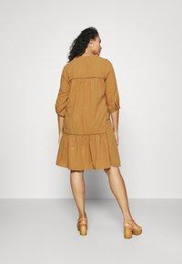 Zizzi - MAUSTIN KNEE DRESS - Day dress - chipmunk - 2