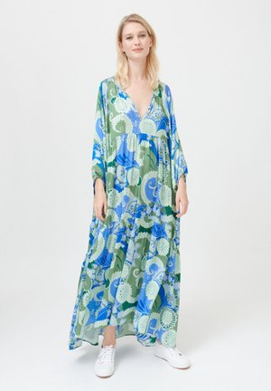 HARPER - Maxi dress - khanga green
