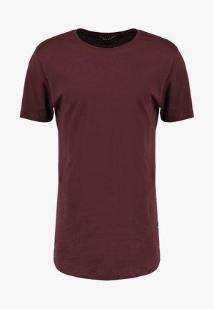 ONSMATT LIFE LONGY TEE  - T-shirt - bas - fudge
