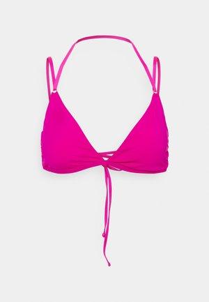 PLUNGE BACK BRA - Bikini top - fuchsia