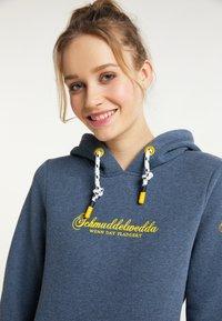 Schmuddelwedda - Hoodie - marine melange - 3