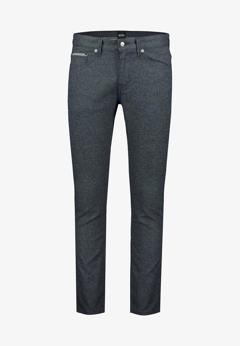 BOSS - DELAWARE - Slim fit jeans - marine