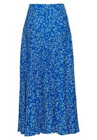 Leon & Harper - JACINTHE - A-line skirt - blue - 1