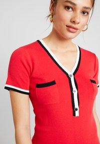 Morgan - Shift dress - rouge - 6