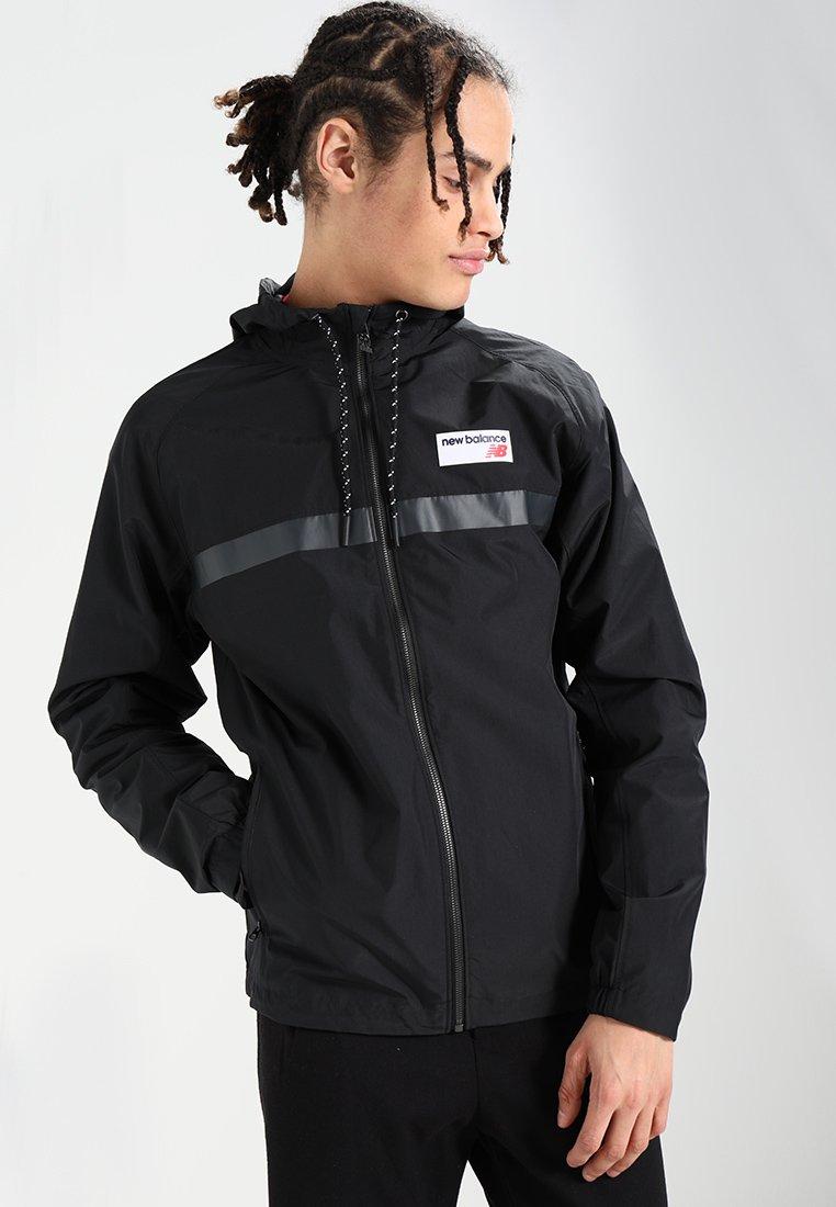 New Balance - ATHLETICS - Summer jacket - black