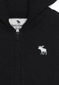 Abercrombie & Fitch - CORE  - Bluza rozpinana - black - 4