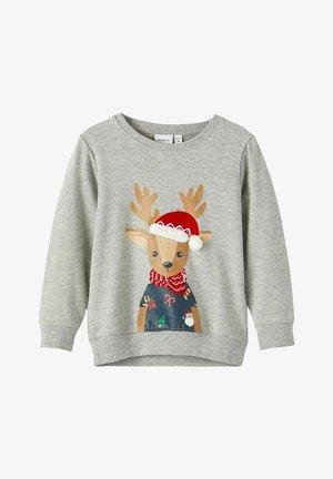 WEIHNACHTS - Sweater - grey melange