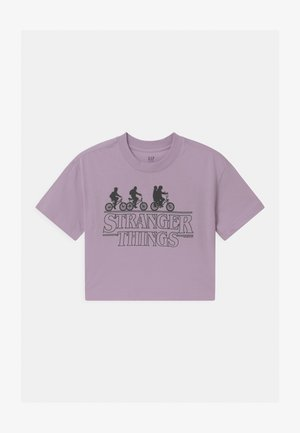 GIRLS TEE - T-Shirt print - fair orchid