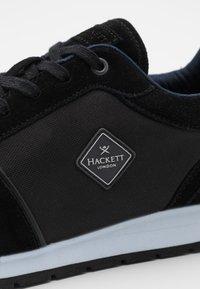 Hackett London - YORK EYELT TRAINER - Sneakers - black - 5