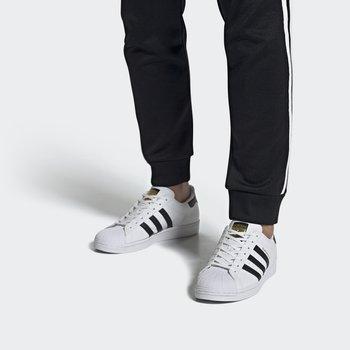 SUPERSTAR VEGAN - Matalavartiset tennarit - footwear white/core black/green