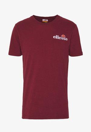 VOODOO - T-shirt imprimé - burgundy