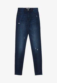 TALLY WEiJL - Jeans Skinny Fit - dark-blue denim - 4