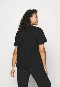 Dr.Denim Plus - MELROSE PLUS TEE - Print T-shirt - black reducing - 2