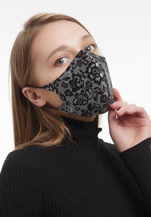 LUXURY LACE MASK REVERSIBLE - Community mask - black