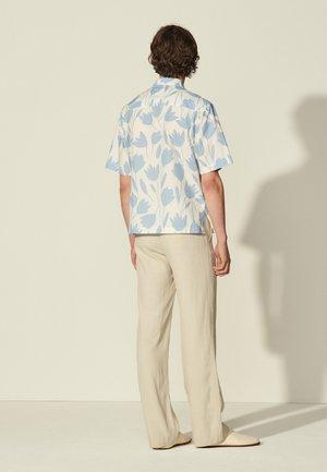 TULIPE - Koszula - bleu ciel/blanc