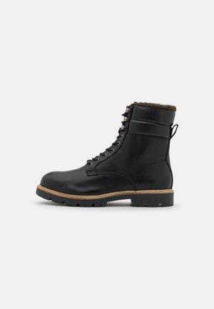 CUBE WARM  - Šněrovací kotníkové boty - black