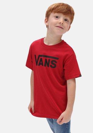 BY VANS CLASSIC KIDS - T-shirt print - chili pepper/black