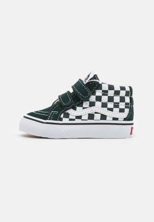 SK8 MID REISSUE CHECKERBOARD - Sneakers alte - dark grey
