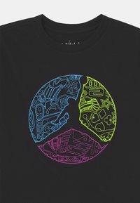 Jordan - JUMPMAN COLOUR UP TEE - T-shirt con stampa - black - 2