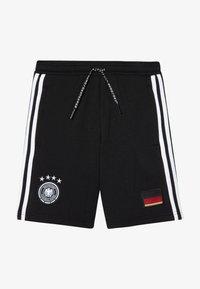 adidas Performance - DFB DEUTSCHLAND SHORT UNISEX - Urheilushortsit - black - 3