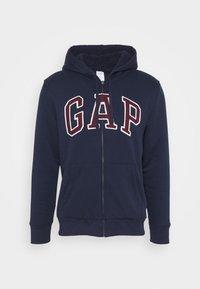 GAP - V LOGO SHERPA - Zip-up hoodie - tapestry navy - 4