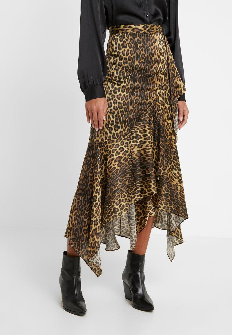 The Kooples - JUPE - A-line skirt - brown/beige