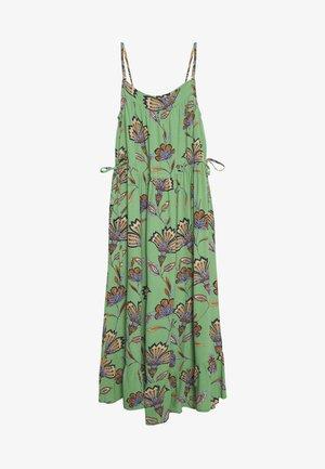 Maxi šaty - stone green