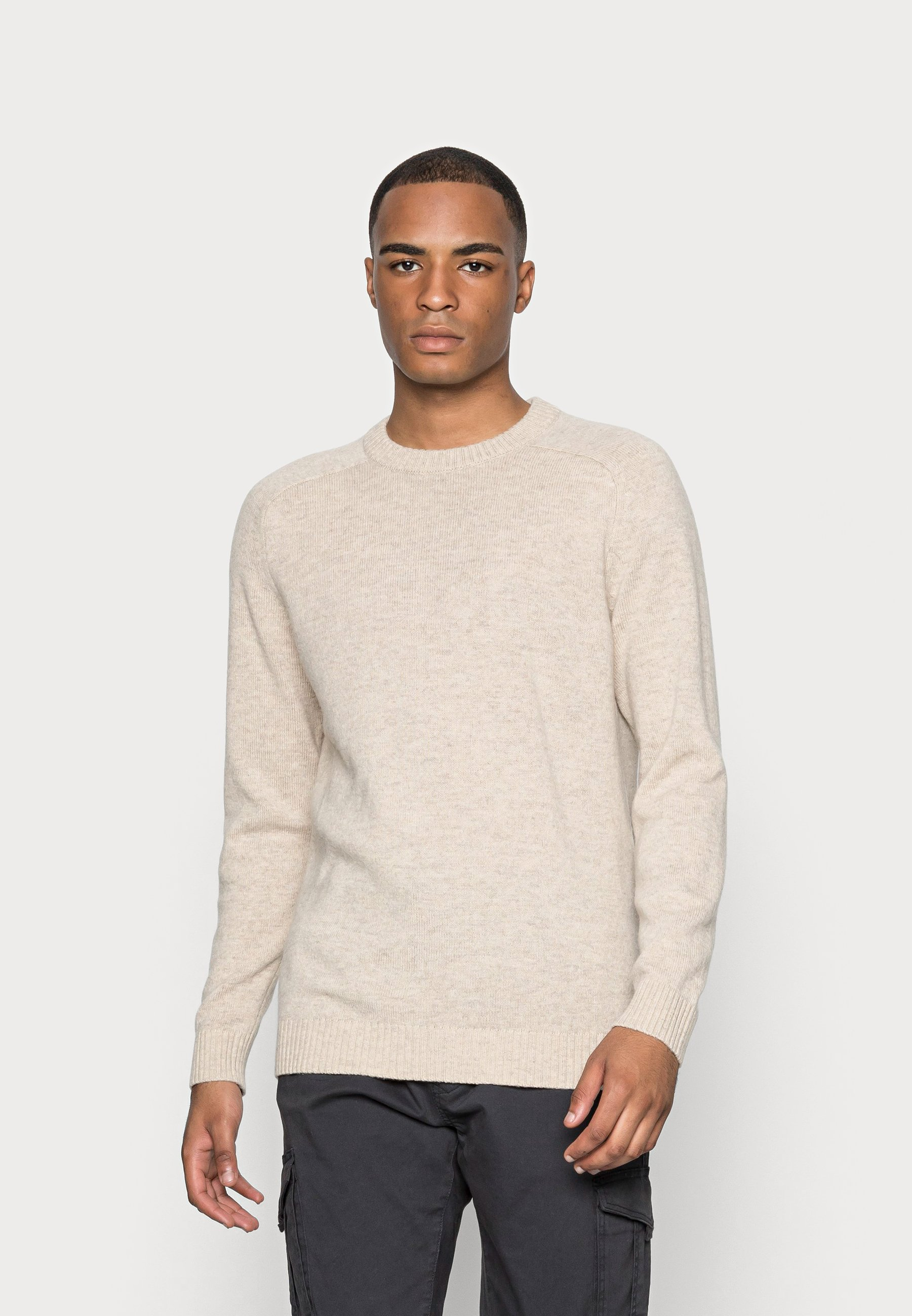 Homme SLHNEWCOBAN CREW NECK  - Pullover