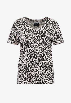 ESSENTIAL TEE - Basic T-shirt - light pink/black