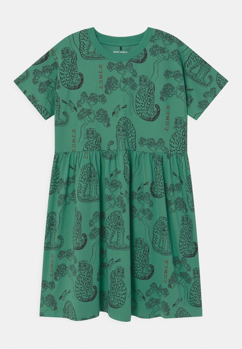 Mini Rodini - TIGERS  - Jersey dress - green