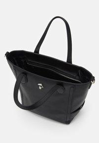 KARL LAGERFELD - IKONIK 3D PIN MINI TOTE - Tote bag - black - 2