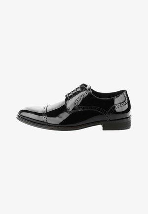 EREMITI - Elegantní šněrovací boty - black
