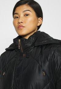 Liu Jo Jeans - IMBOTTITO OVATT LUNGO - Winter coat - nero - 4