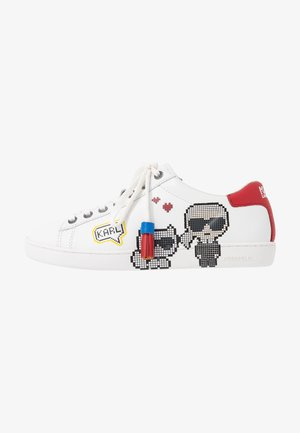 KUPSOLE II PIXEL PAIR LACE - Trainers - white