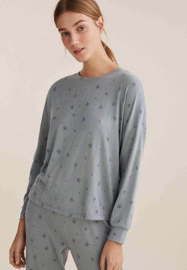 Maglia del pigiama - blue