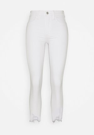 SUPER RISE JEGGING CROP - Jeggings - bright white