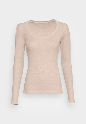 SORANA  - Maglietta a manica lunga - cashmere cream melange